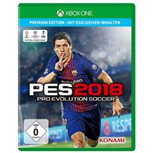 Microsoft Xbox One PES 2018 Game